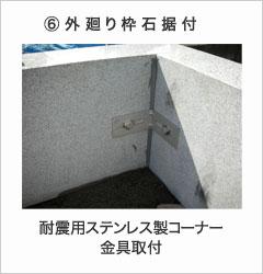 外廻り枠石据付