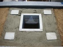 納骨部分の中央は清浄土になっております。