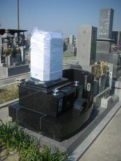 洋墓・墓誌工事
